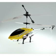 RC HELICOPTER MODEL CF009 (YELLOW), 3.5 CHANEL, GIROSCOPE , METAYELLOWIC AMETALLIC BLU