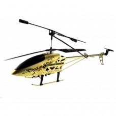HELICOPTERO RADIO CONTROL MODELO LH-1202 (DORADO) 72 CM , 3,5 CANALES, GIROSCOPIO