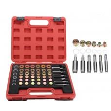 Set Thread Repair Oil Pan and Gearbox Drain Plug 114 pieces