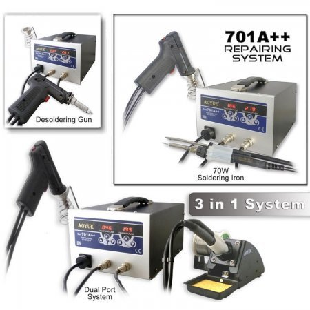 REPAIRING SYSTEM 701A++ Soldering stations Aoyue 153.00 euro - satkit