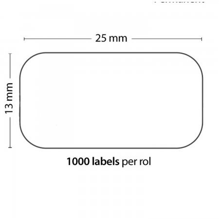 Roll of 1000 Adhesive Labels 25mm*13mm For DYMO COMPATIBLE 11353 PACKING PRODUCTS  3.50 euro - satkit