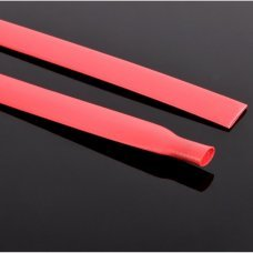 RED thermoretractable tube 8mm Price per meter