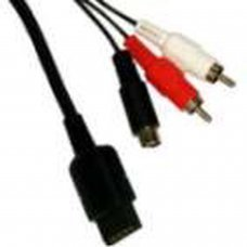 S-VIDEO + AV CABLE PS2/PS3