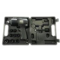Juego de vasos y pistola de impacto SATA MOD-NF282 DE 1/2'' y torque MAX 660NM con 8 llaves vasos incluidas
