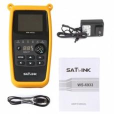 SatLink WS-6933 Ultra-Fast Compact HD DVB-S + DVB-S2 BUSCADOR DE SEÑAL SATELITE