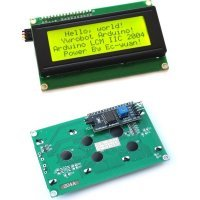 Serial IIC/I2C/TWI 2004 204 20X4 Character LCD Module Display For Arduino