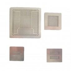Pack 4 STENCILS para PS4 Calor directo