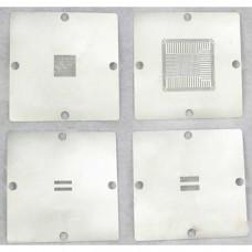 Pack 4 STENCILS para PS4 de 90X90 valido MK-15 , HT-90 ,kit dual