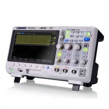 Siglent SDS1102X 2 channel DSO with 100 MHz bandwidth, 1 GSa / s and 14 Mpts memory depth. Oscilloscopes Siglent 399.00 euro - satkit