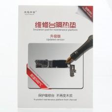 Tapete silicona resistente al calor hasta 500ºC para trabajos de mantenimiento y reparacion