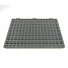 Maleta 128 cajitas componentes SMD modular con tapa