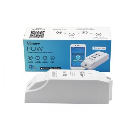 Conmutador WiFi Sonoff Pow con función de medición de consumo de energía DOMOTICA SONOFF 12.00 euro - satkit