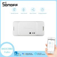 Sonoff BASIC ZBR3 ZigBee Switch Module Wireles Smart Home APP WiFi Remote Control