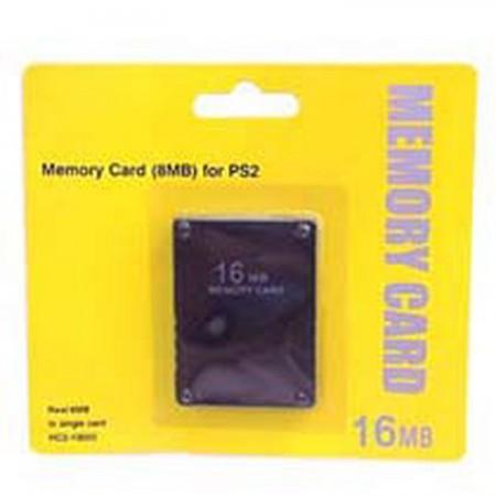 Memory Card 16 Mb PS2 ACCESORIOS PSTWO  6.60 euro - satkit