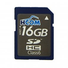 MEMORY CARD SDHC 16GB  [Class 6] High speed