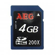 MEMORY CARD SDHC 4GB  [Class 10] High speed