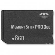MEMORY STICK PRO DUO 8GB  (COMPATIBLE WITH PSP)