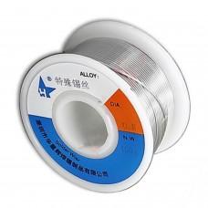 Estaño especial para soldar acero, aluminio, cobre puro, zinc, 0,8 mm 100 gr