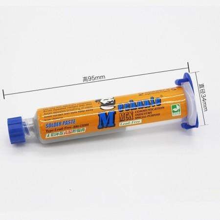SYRINGE SOLDER PASTE  NO LEADED CS305(30GR) Soldering paste Mechanic 5.30 euro - satkit