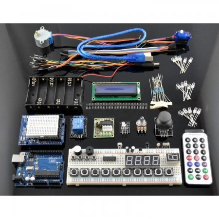 Starter Pack for Arduino (Includes Arduino Uno compatible) ARDUINO  29.99 euro - satkit