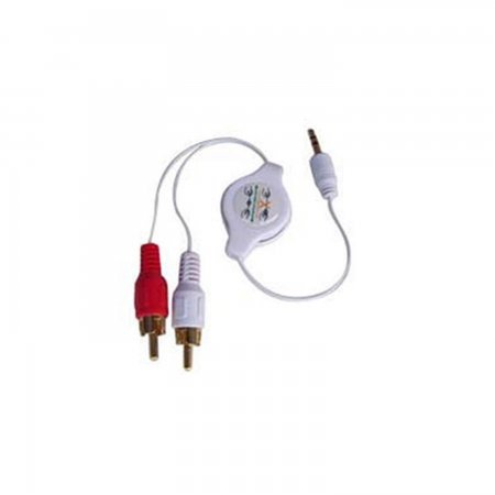 Cable Conexion Stereo para Ipod/Iphone 3G/MP3 Retractil Equipos electrónicos  3.00 euro - satkit