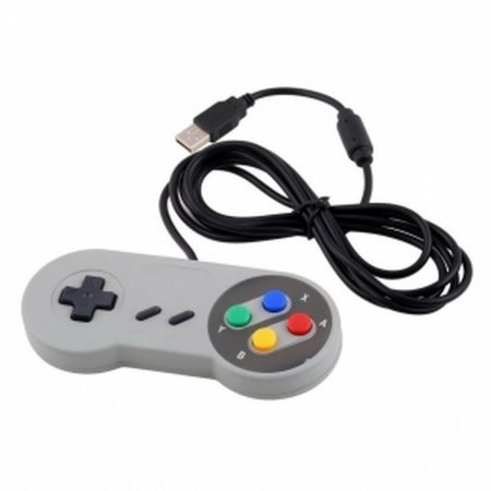 Nintendo SNES PC GamePad SFC Controlador para Super Famicom de PC de Windows USB GAMECUBE, N64, SNES  3.00 euro - satkit