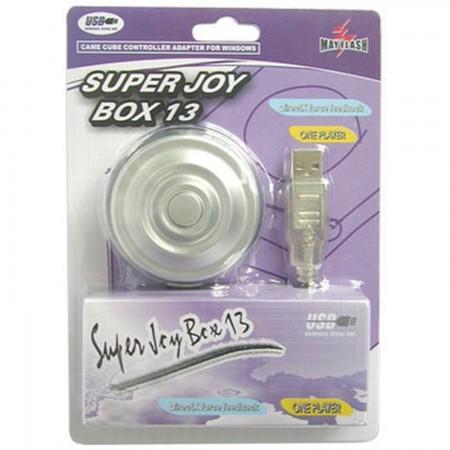 Super JoyBox 13 [GC -> PC]Adapta tus mandos de GameCube para usarlos en el PC a través del  USB INFORMATICA Y TV SATELITE Mayflash 5.00 euro - satkit