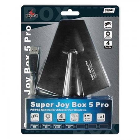 Super Joybox 5 PRO [4 Pads PSX/PS2 -> PC] ACCESORIOS PSTWO Mayflash 6.00 euro - satkit