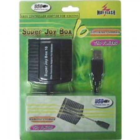 Adaptador 2 Mandos XBOX a PC (SUPER JOY BOX 10) ADAPTADORES Mayflash 3.50 euro - satkit
