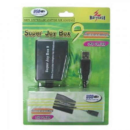 Adaptador Mando XBOX a PC (SUPER JOY BOX 9) ADAPTADORES Mayflash 2.00 euro - satkit
