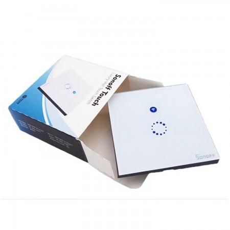 Tactil Interruptor inalámbrico via  WiFi básico para domotica compatible amazon echo, google home DOMOTICA SONOFF 13.50 euro - satkit