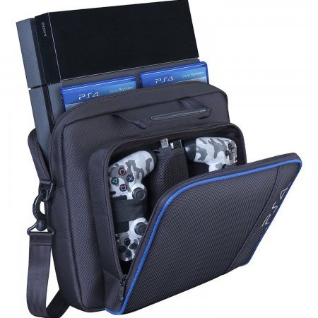 Maleta de transporte bolsa de viaje  para Sony  Playstation 4 - PS4, PS4 Pro, PS4 Slim . PLAYSTATION 4  9.70 euro - satkit