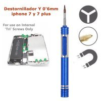 Destornillador de tri wing  Y 0,6mm  reparacion iPhone 7, iPhone 7 Plus y Apple Watch