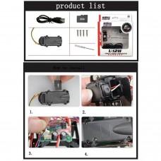 Camara HD para  QUADCOPTERO mod U12W PARA U818A U829A