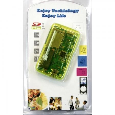 Lector tarjetas memoria usb 2.0 23 en 1 TARJETAS DE MEMORIA  4.50 euro - satkit