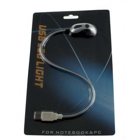 Luz USB LED flexible para portátiles INFORMATICA Y TV SATELITE  2.00 euro - satkit