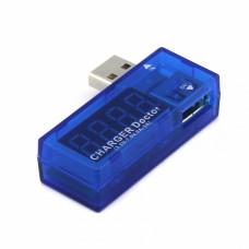 Comprobador de voltaje y amperios para puerto USB