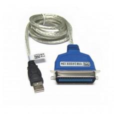 Cable  USB tipo A  macho a puerto Paralelo  C36(Conexión Impresora paralelo) WXP/VISTA/W7/W8/W10