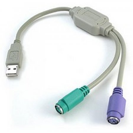 Conversor USB  puertos ps/2 (teclado y raton) INFORMATICA Y TV SATELITE  3.00 euro - satkit