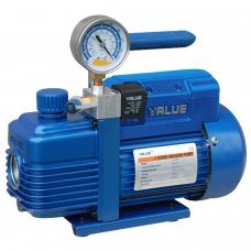 Vacuum pump for air conditioning with manometer, refrigeration, 3.6m3 / h Value VI120SV