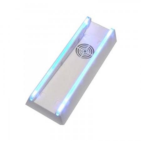 Stand vertical para NINTENDO Wii con ventilador y luz azul ACCESORIOS Wii  8.42 euro - satkit