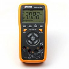 VICTOR 70C 3 5/6 Key Touch Digital Multimeter Autoranging LCD with usb pc connection
