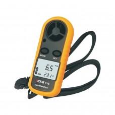Anemómetro digital Victor 816 y termometro