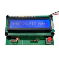 Equipo  comprobar y medir de cristales de quarzo (osciladores) de 30 khz hasta 20 mhz.