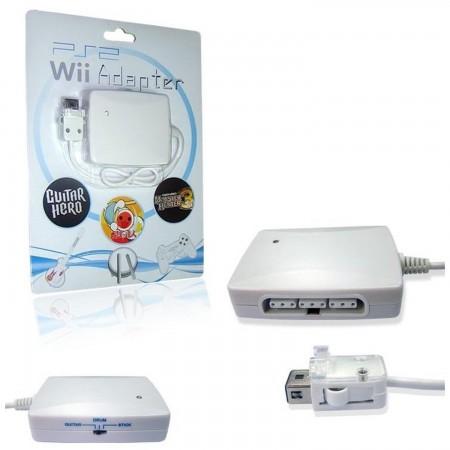 Adaptador 3 en 1 mandos PS2 para mando remoto Wii (mandos, guitarras y tambor) MANDOS Wii  9.90 euro - satkit