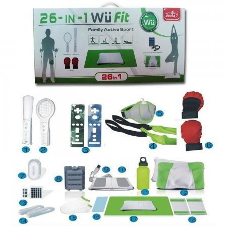 Wii Fit 26 en 1 Family active Sports Pack WiiFIT ACCESORIOS  17.00 euro - satkit