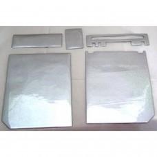 Wii Console Professional Protector - Glitter Silver