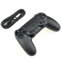 Mando compatible PS4 con cable DoubleShock 4 para playstation 4