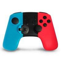 Mando de juego inalámbrico - Joystick gamepad compatible consola NINTENDO SWITCH - azul + rojo