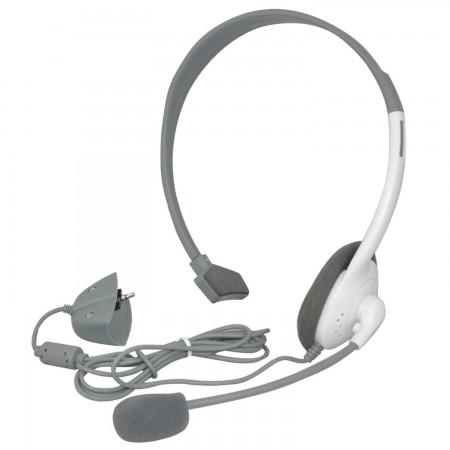 XBOX 360 Headset (Auriculares + Micrófono) (SIN BLISTER) ACCESORIOS XBOX 360  3.00 euro - satkit